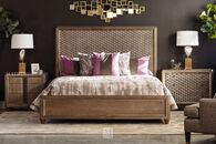 A.R.T. Furniture Geode Celestite King Panel Bed