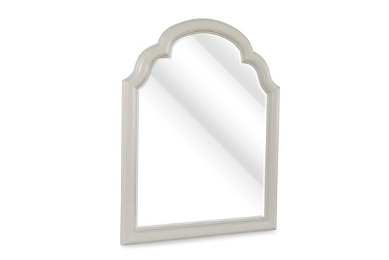 Potrait Country Youth Beveled Mirror in Cream