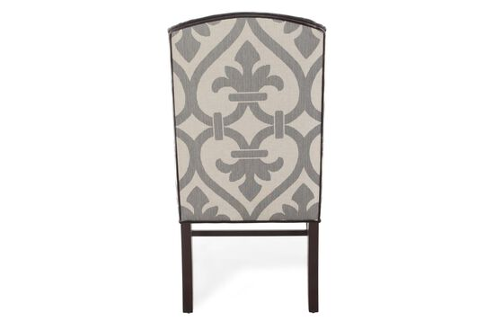 Wingback 42'' Arm Chair in Brown
