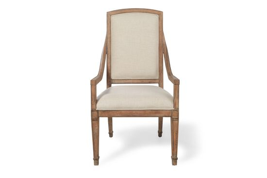 Two-Piece Traditional Host Chair Set in Brown