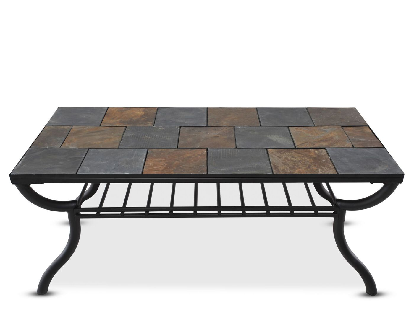 ashley antigo rectangle cocktail table | mathis brothers furniture