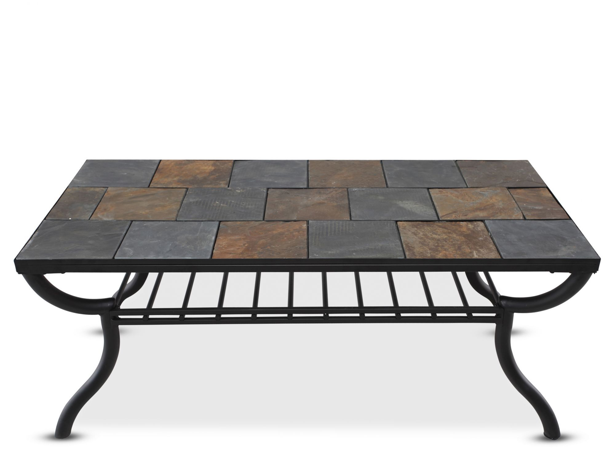 Attrayant Images Tile Top Rectangular Cocktail Tableu0026nbsp;in Gunmetal Tile Top  Rectangular Cocktail Tableu0026nbsp;in Gunmetal
