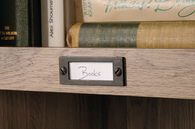 MB Home Counselor Salt Oak Tall Bookcase