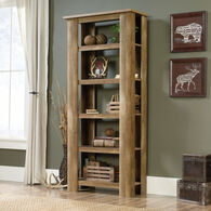 MB Home Artisan Craftsman Oak 5-Shelf Bookcase