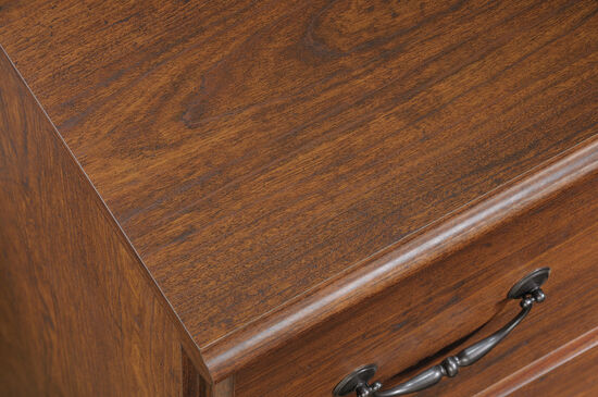 Full-Extension Drawers Traditional Lateral File in Milled Cherry