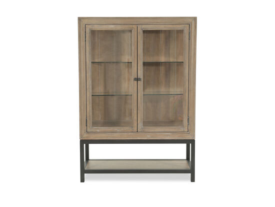 Samuel Lawrence FB Avenue Brown Display Cabinet