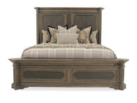 Hooker Hill Country Woodcreek King Brown Mansion Bed