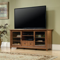 MB Home Lake Wood Auburn Cherry Entertainment Credenza