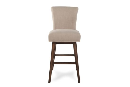 "Mid-Century Modern 44"" Bar Stool in Sand"