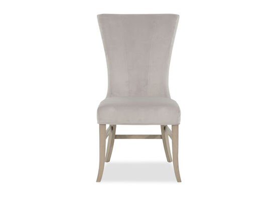 High Back 39'' Dining Chair in Gray
