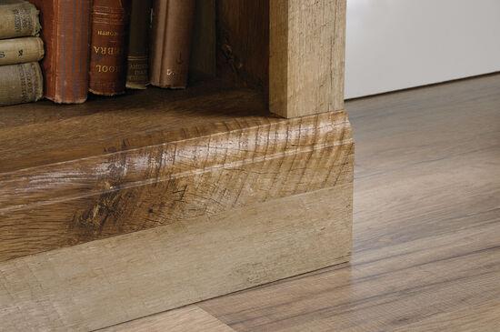 Contemporary Adjustable Shelf Bookcase in Craftsman Oak
