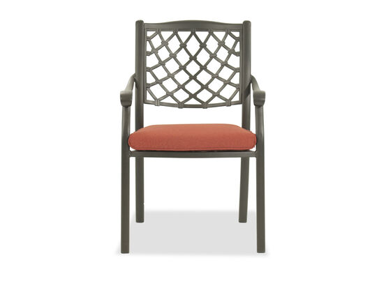 Ashley Tanglevale Patio Orange Side Chair