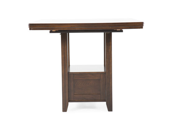"36"" Rectangular Counter Table in Dark Brown"