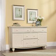 MB Home Hampshire Antiqued White Dresser