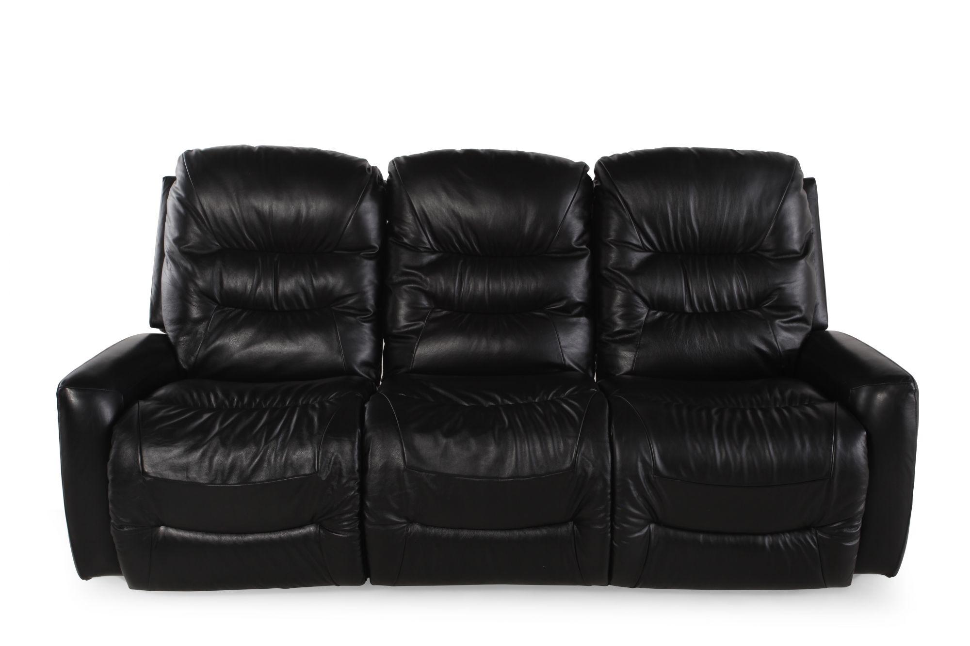 La-Z-Boy Ace Black Reclining Sofa  sc 1 st  Mathis Brothers & La-Z-Boy Ace Black Reclining Sofa | Mathis Brothers Furniture islam-shia.org