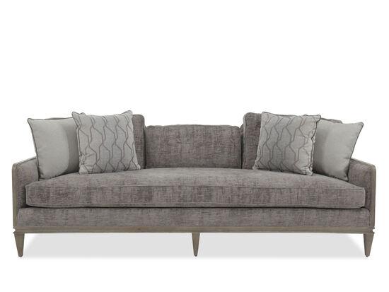 """Modern 89"""" Sofa in Graphite"""