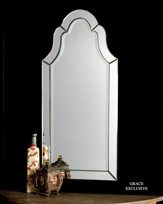 43.5'' Frameless Arched Mirror