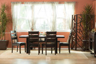 Ashley Parlone Brown Five-Piece Dining Set