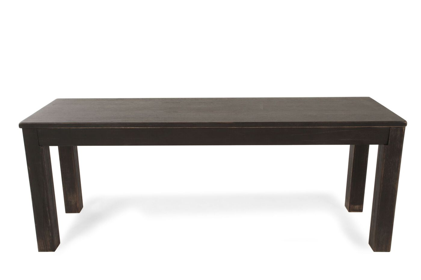Casual 47 39 39 Dining Bench In Espresso Mathis Brothers Furniture