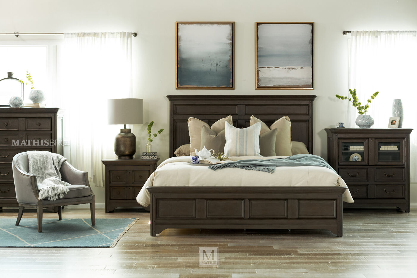 furniture driftwood bed he oak bedroom sylvania homelegance set p
