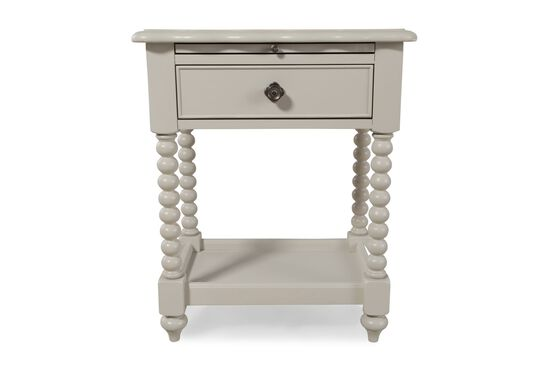 Country Bobbin Legs Youth Night Stand in Morning Mist