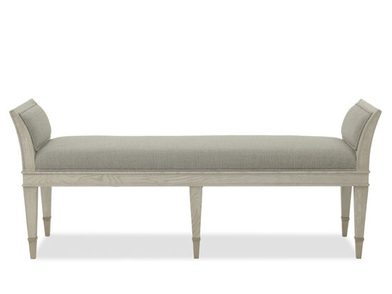 "Modern 61"" Bench in Gray"