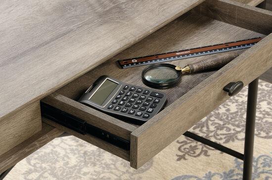 "42.5"" X-Brace Contemporary Console Desk in Northern Oak"