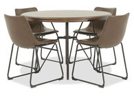 Ashley Centair Brown Five-Piece Dining Set
