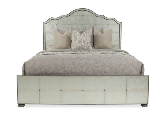 Hooker Arabella King Mirrored Panel Bed