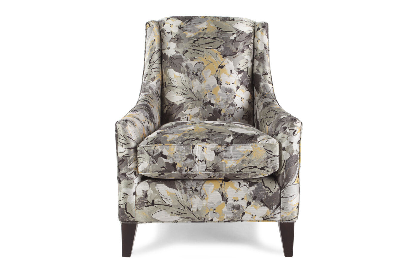 Traditional Floral Patterned 29 5 Quot Wingback Chair Mathis