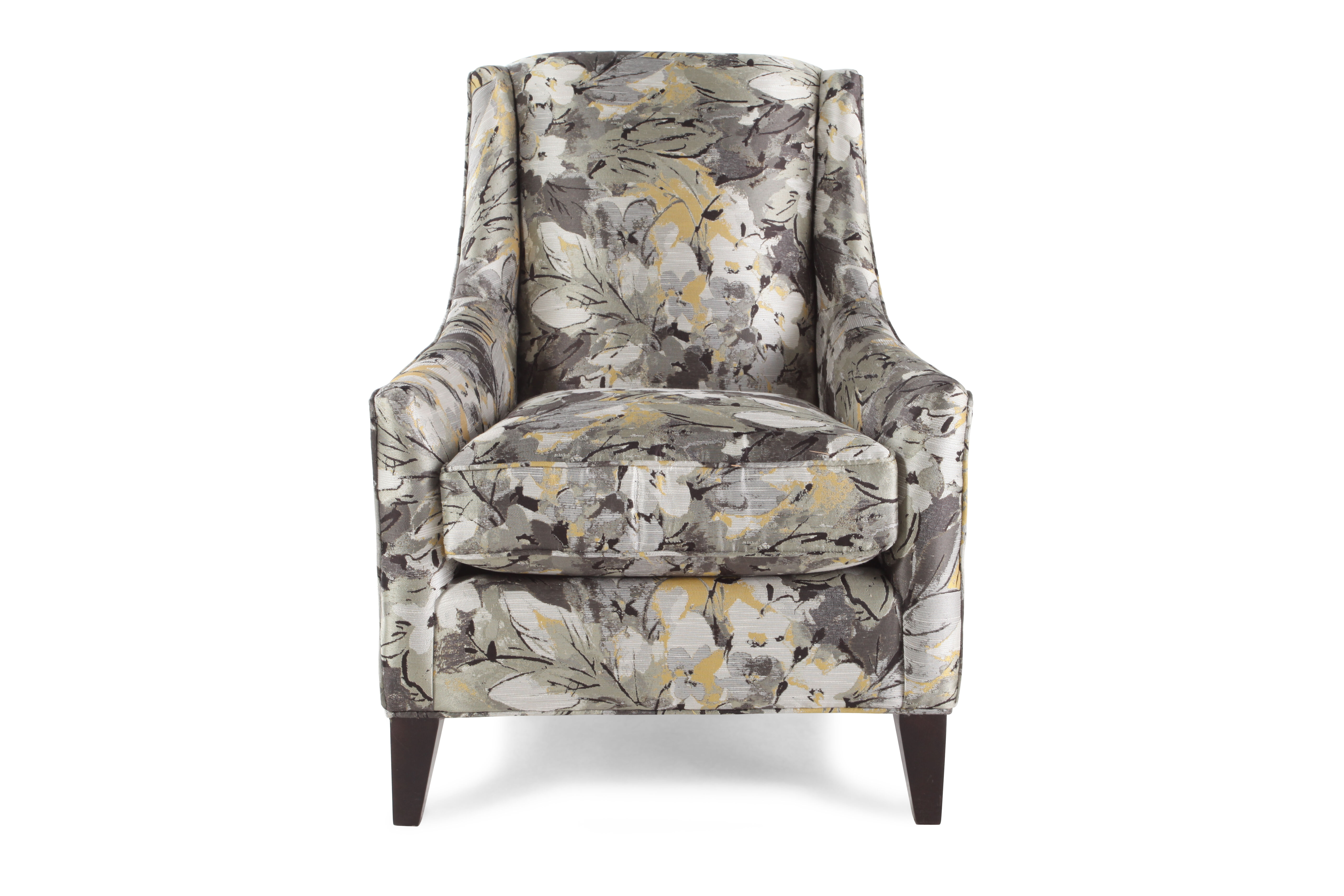 Images Traditional Floral Patterned 29.5u0026quot; Wingback Chair Traditional  Floral Patterned 29.5u0026quot; Wingback Chair