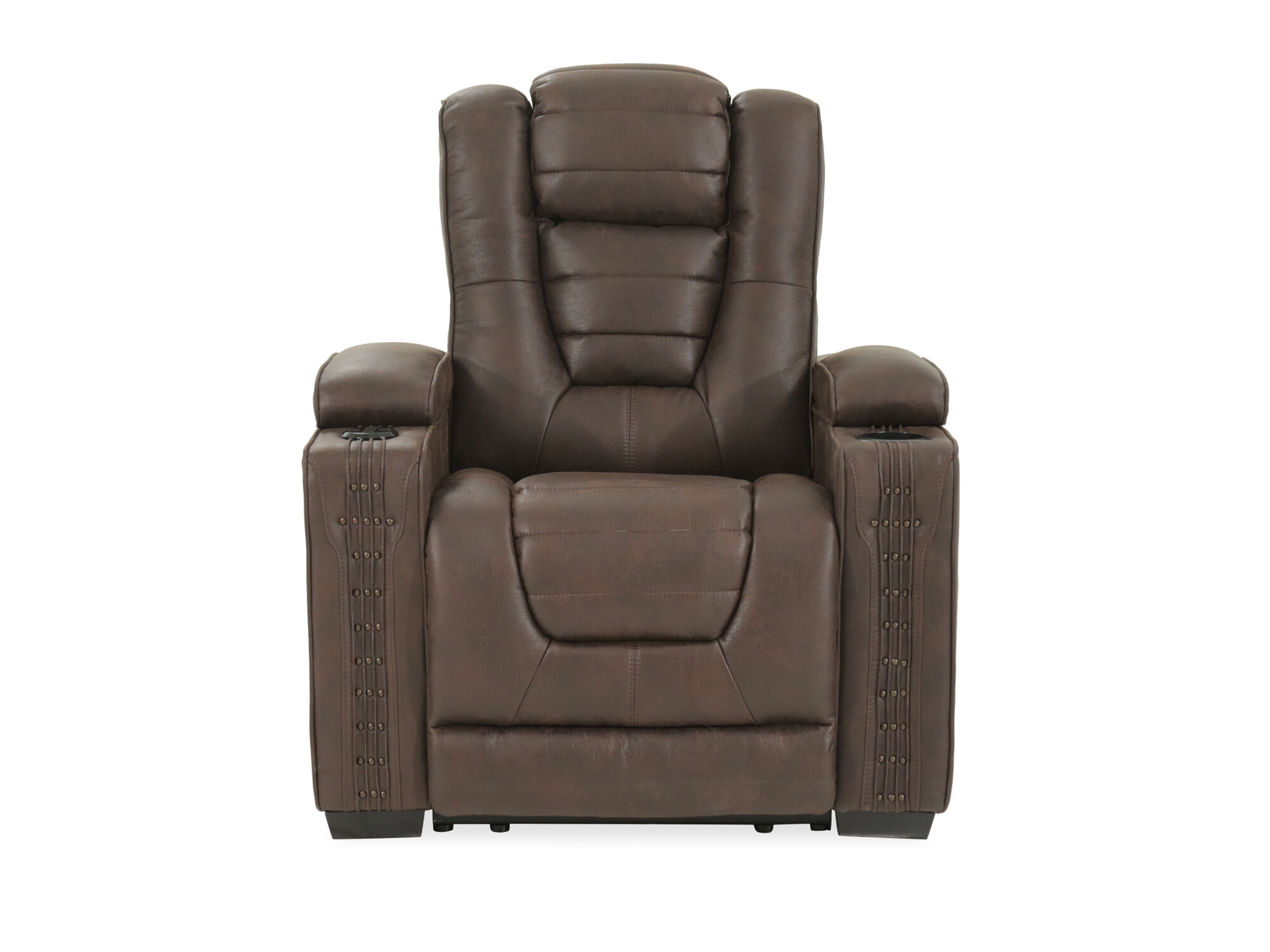 Prime Resources Big Chief Brown Power Recliner ...  sc 1 st  Mathis Brothers & Living Room Furniture Stores | Mathis Brothers islam-shia.org