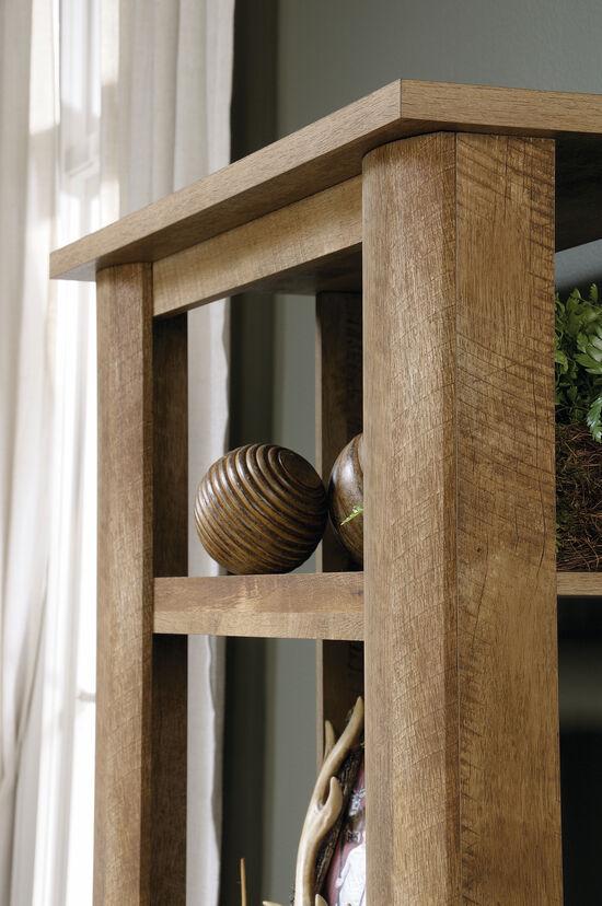 Five-Shelf Casual Bookcase in Craftsman Oak
