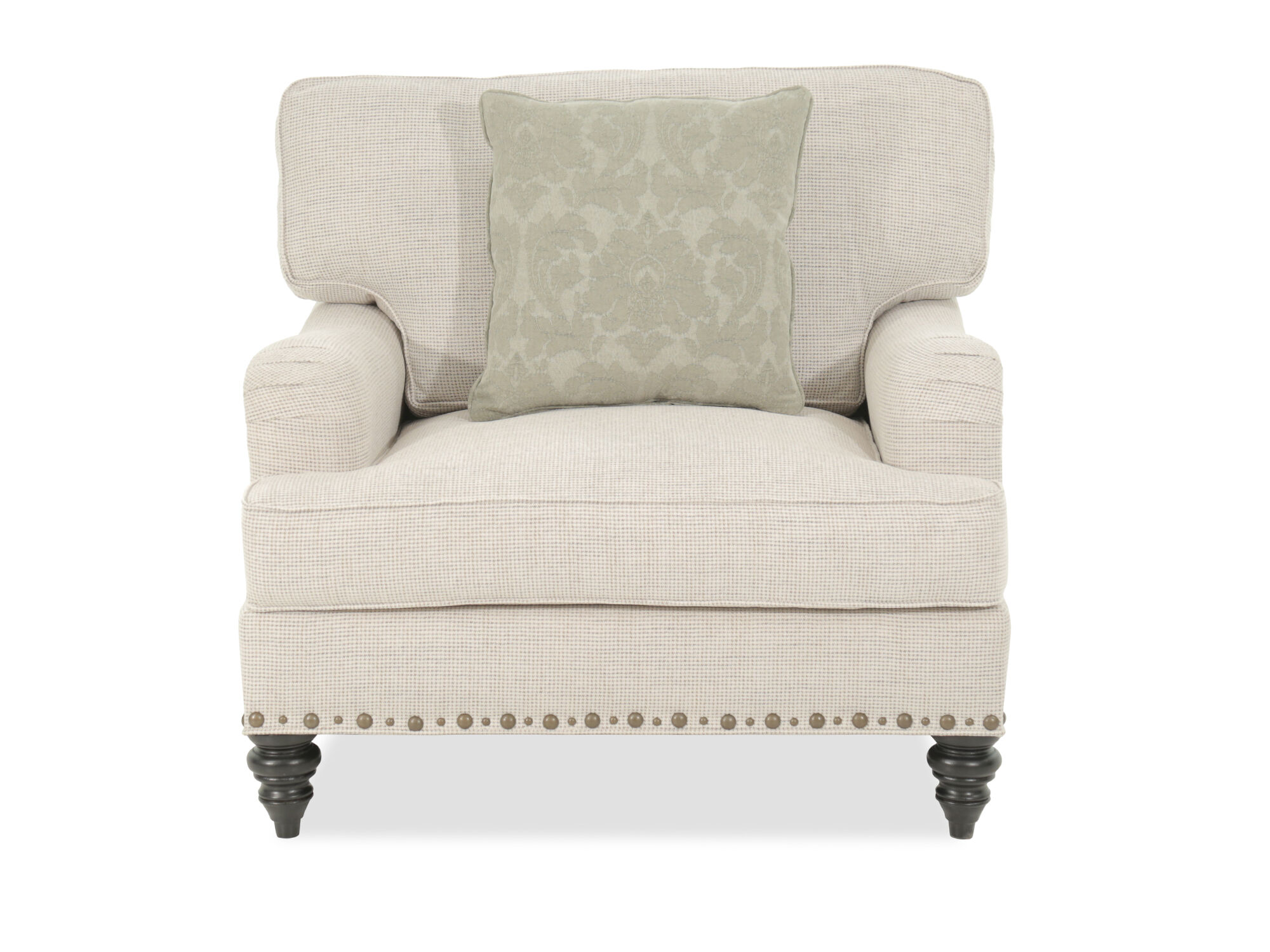 Images Textured Traditional 41u0026quot; Chair And A Half In Cream Textured  Traditional 41u0026quot; Chair And A Half In Cream