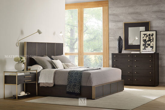 Hooker Curata Midnight California King Low Bed
