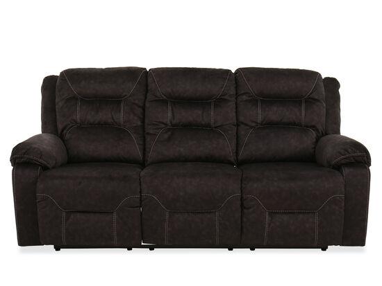 "86""Power Reclining Sofa in Gray"