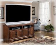 Ashley Hamlyn Dark Brown Large TV Stand