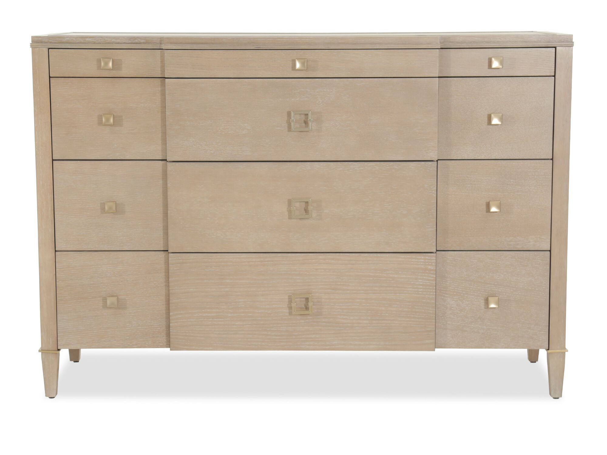 40u0026quot; Transitional Four Drawer Chesser In Brown