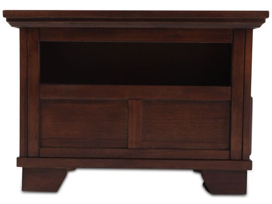 Lift-Top Casual Cocktail Table in Dark Brown