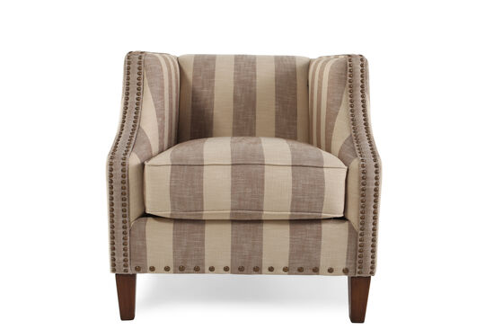 "Nailhead-Trimmed Traditional 30"" Accent Chair"