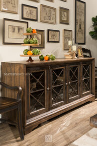 Hooker Hill Country Pipe Creek Home Entertainment Media Console
