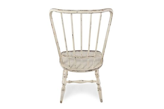 Two-Piece Spindle Back 18'' Side Chair Set in Antique White