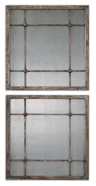 Uttermost Saragano Square Mirrors Set/2