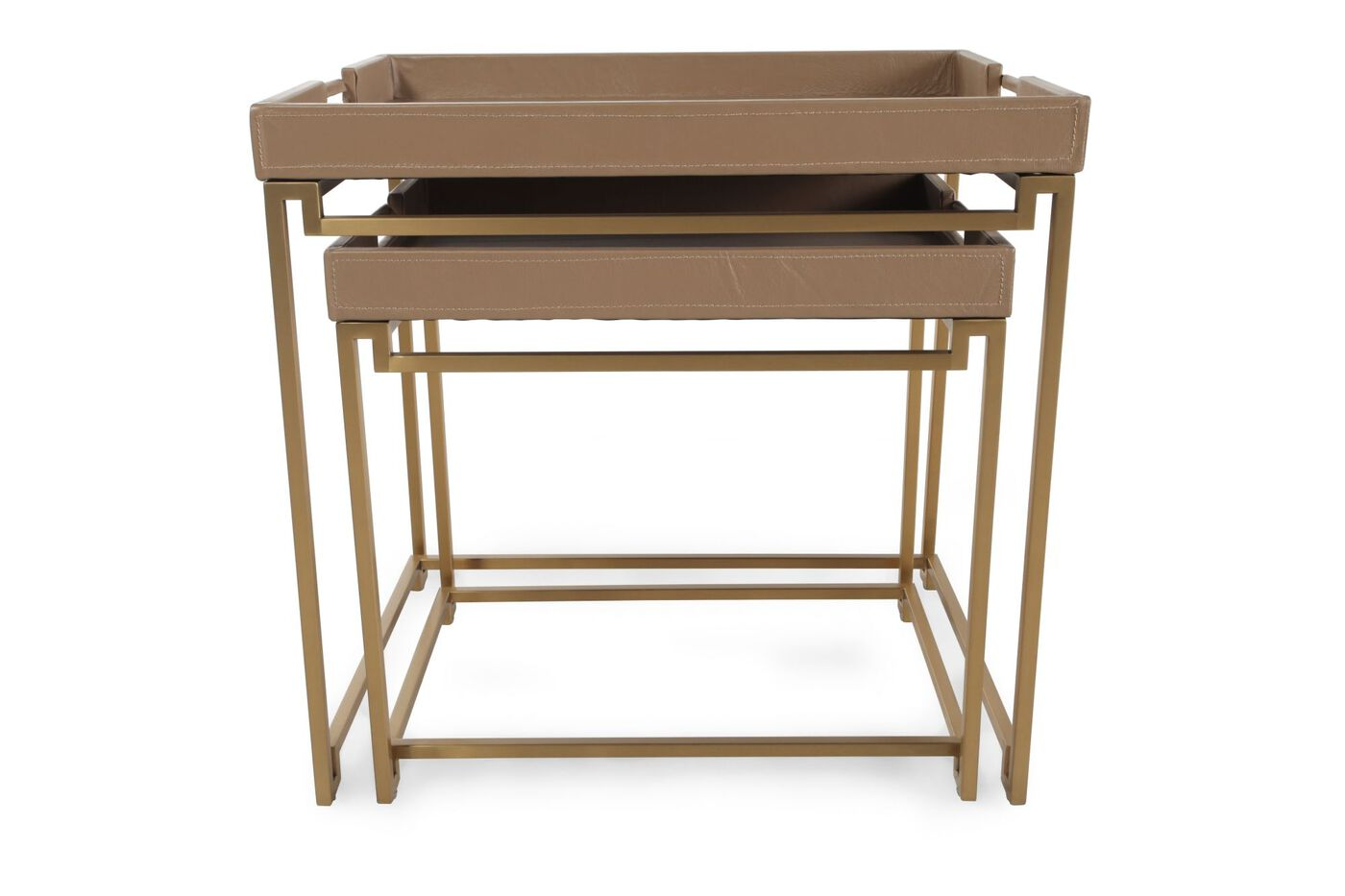 contemporary end tables. Images In/Out Box Contemporary End Tables\u0026nbsp;in Brown Tables