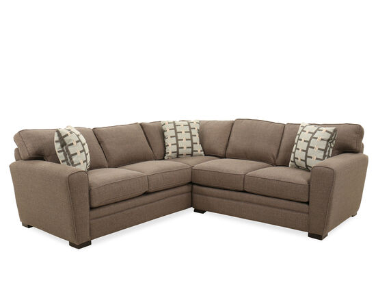 Two-Piece Casual Sectional in Stone