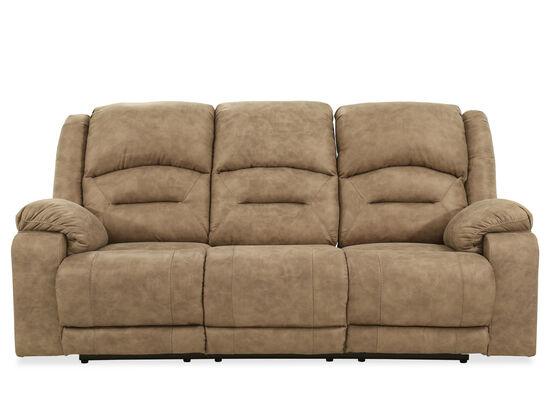 Contemporary 89'' Power Reclining Sofa in Graystone