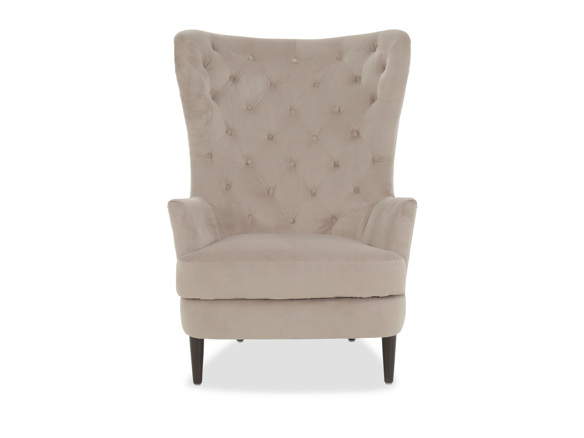 boulevard granite button tufted accent chair
