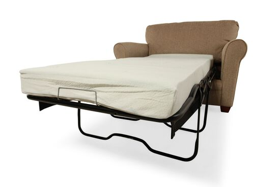 "I-Rest Casual 56"" Sleeper Chair in Brown"