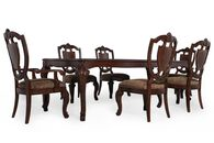 A.R.T. Furniture Old World Seven-Piece Leg Table Dining Set