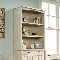 MB Home Office Central Chalked Chestnut Library Hutch